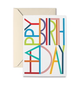 R. Nichols Happy Birthday Card