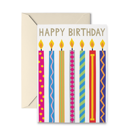 R. Nichols Birthday Candles Card