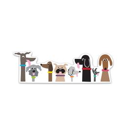 R. Nichols Dog Pack Sticker