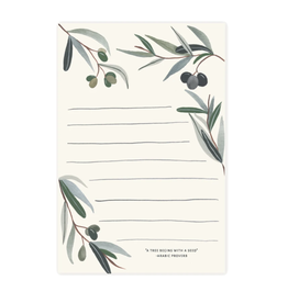 Pen + Pillar Olive Branch Notepad