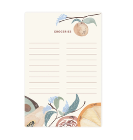 Pen + Pillar Summer Fruit Grocery Notepad