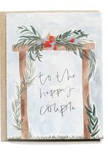 Pen + Pillar Wooden Arch Wedding Card