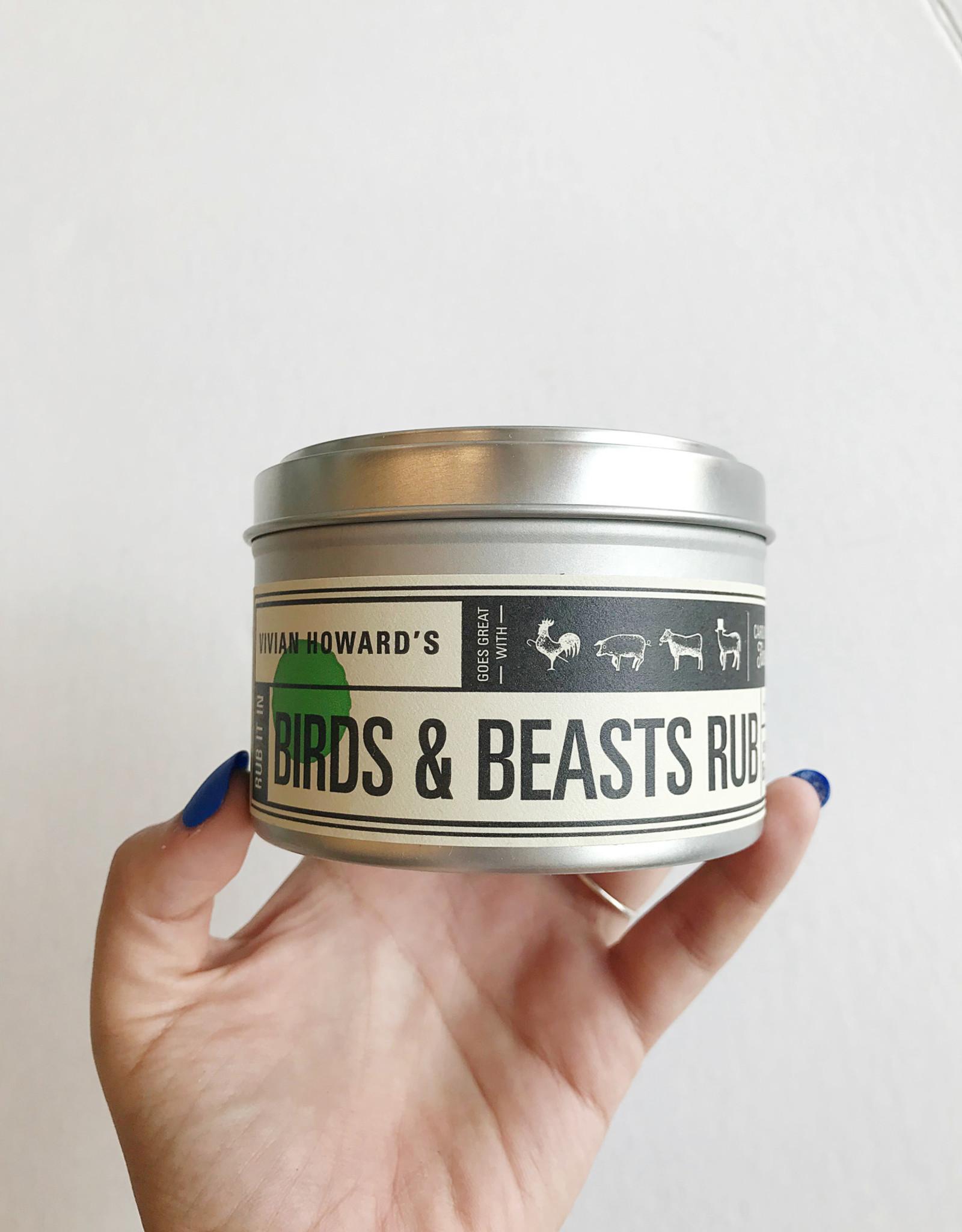 Birds and Beasts Rub