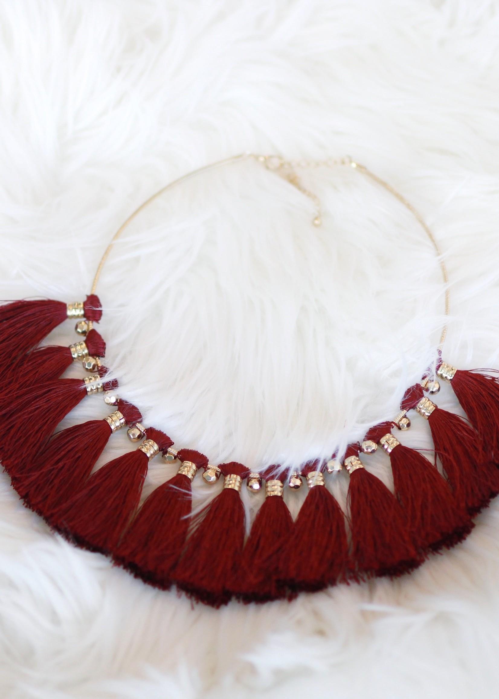 Tassel Collar N97 Necklace