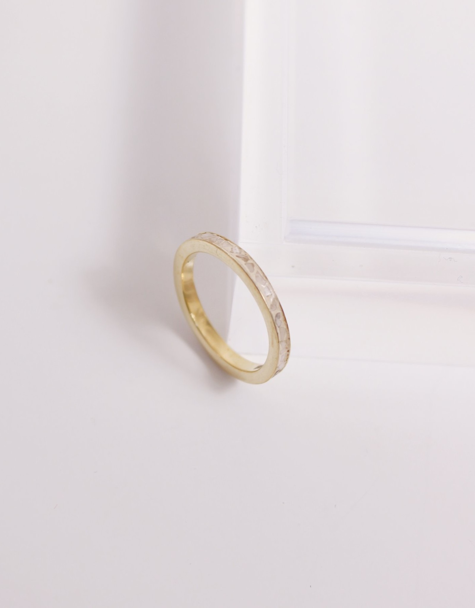 Joya Deco Diamond Ring- White