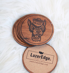 LazerEdge Tuffy Head Cherry Coasters