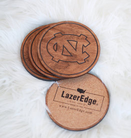 LazerEdge Interlocking UNC Coasters