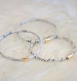 Receipts Stack Bracelets
