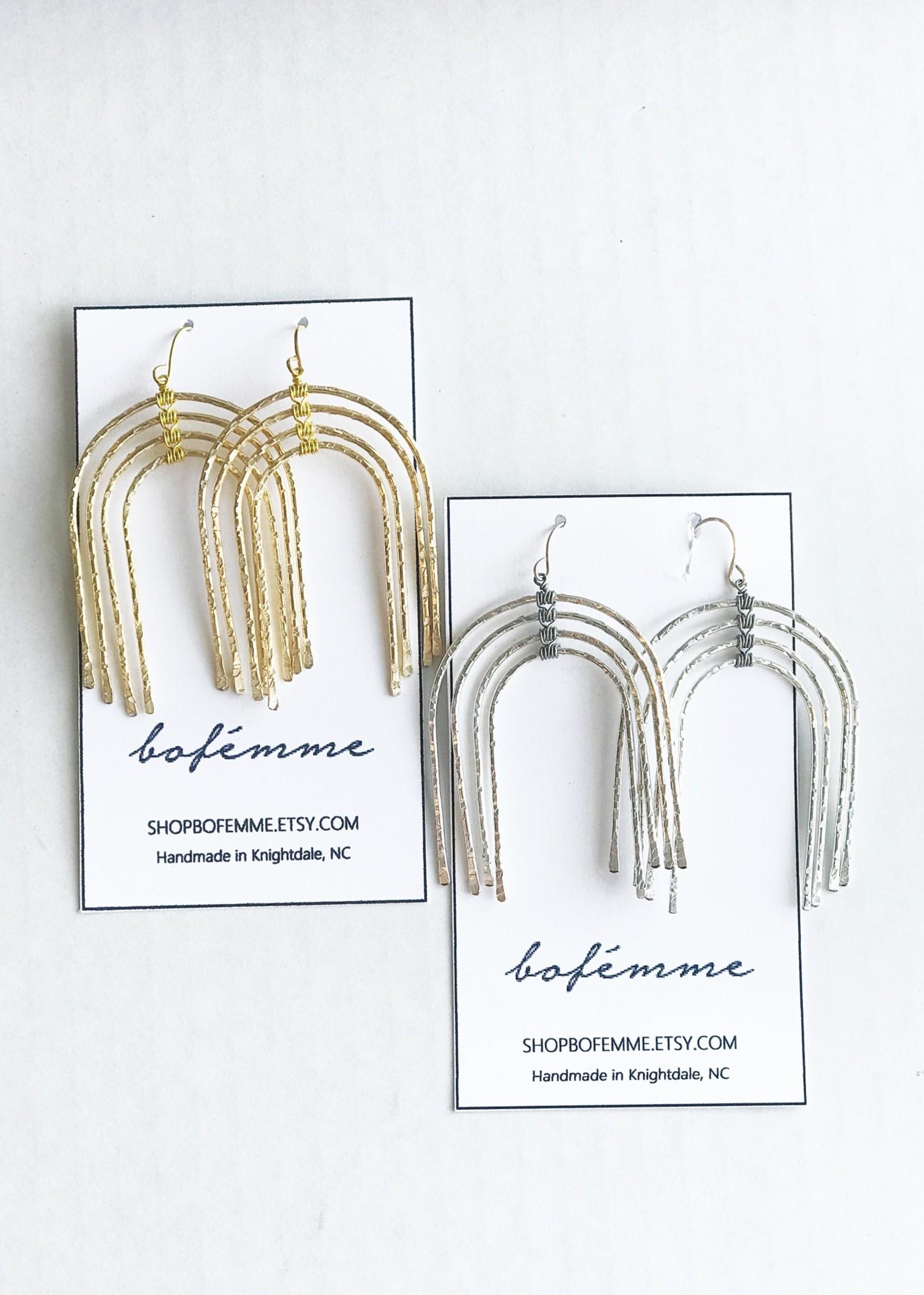 Bofemme Bofemme Lg Rainbow Earrings