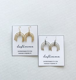 Bofemme Bofemme Sm Rainbow Earrings