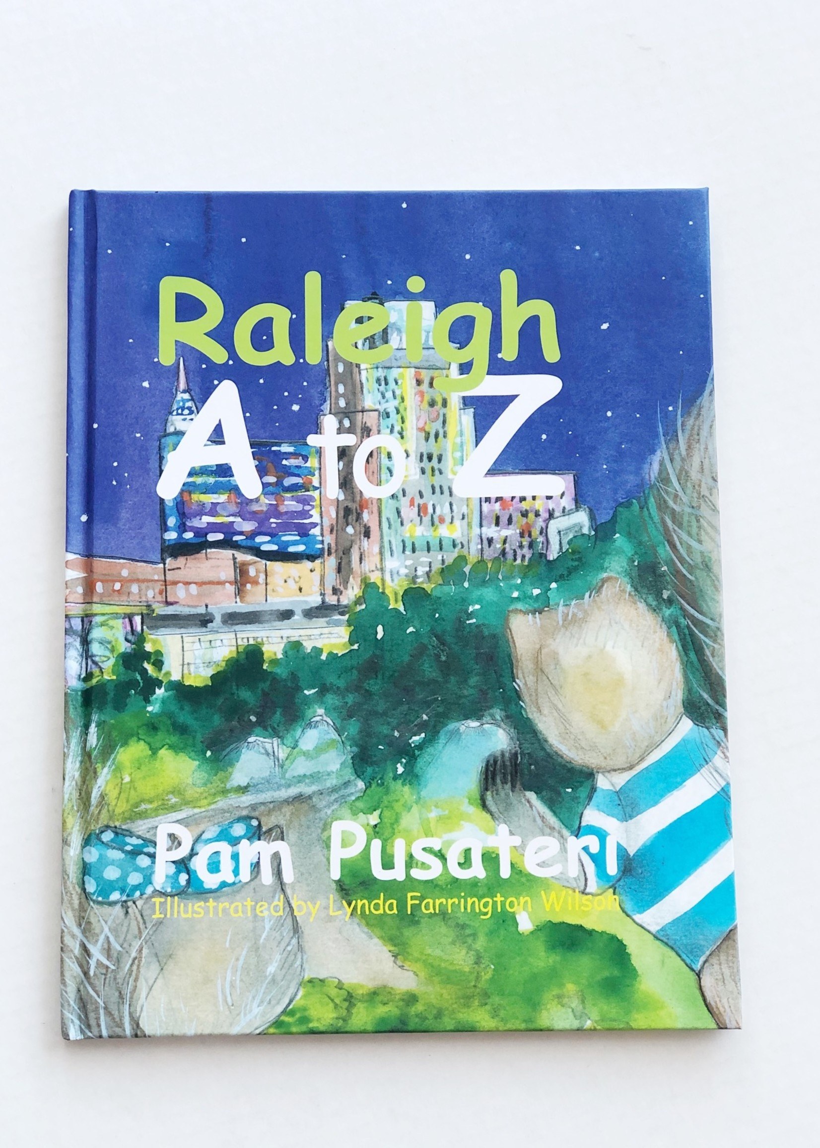 Pam Pusateri Raleigh A to Z Book