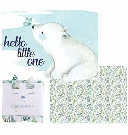 Goose Waddle Two Pack of Receiving Blankets