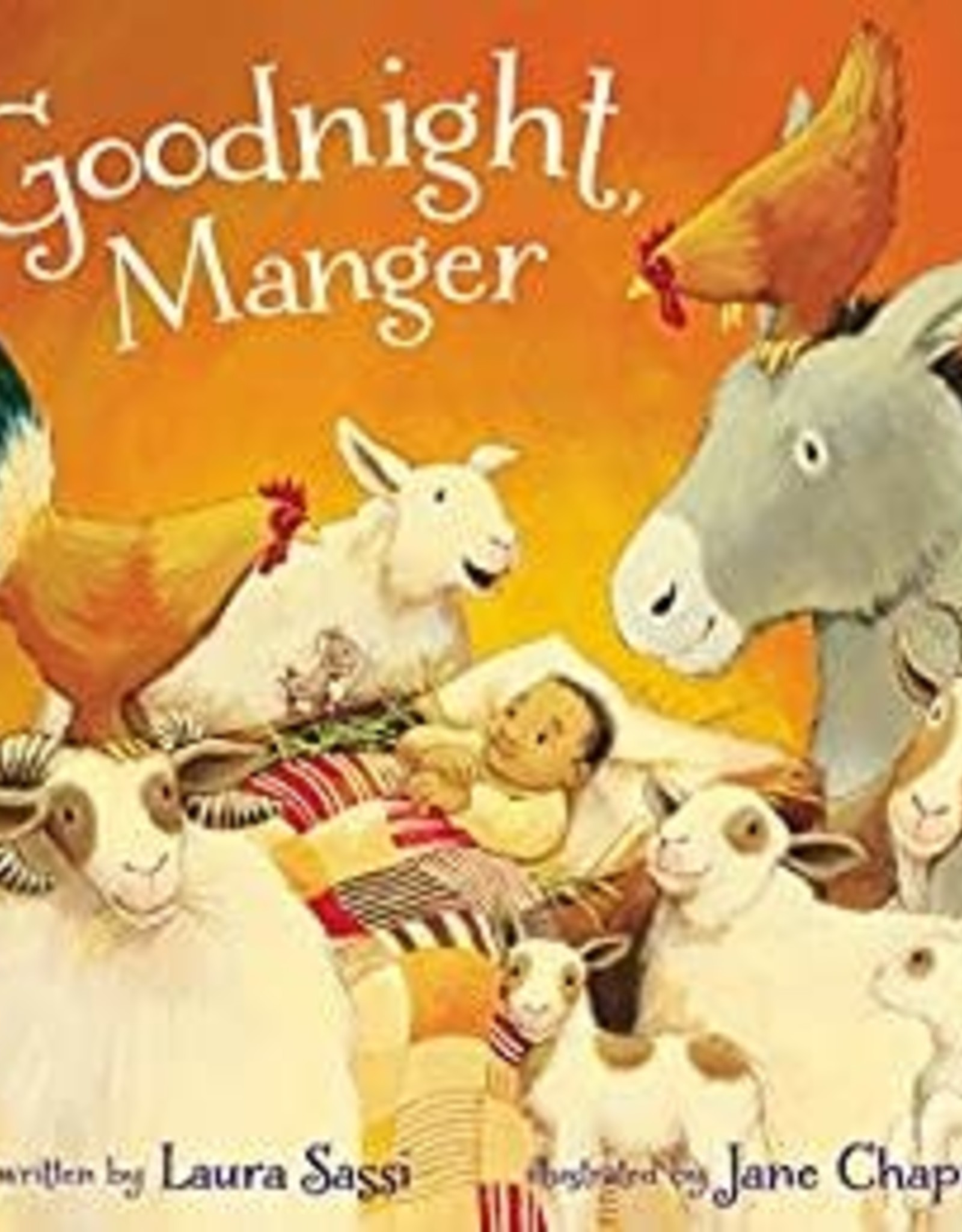 Goodnight Manger Book
