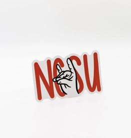 Cardinal Directions CD Stickers- NCSU