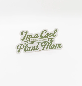 Cardinal Directions CD Stickers- Cool Plant Mom