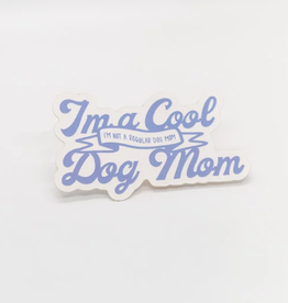Cardinal Directions CD Stickers- Cool Dog Mom