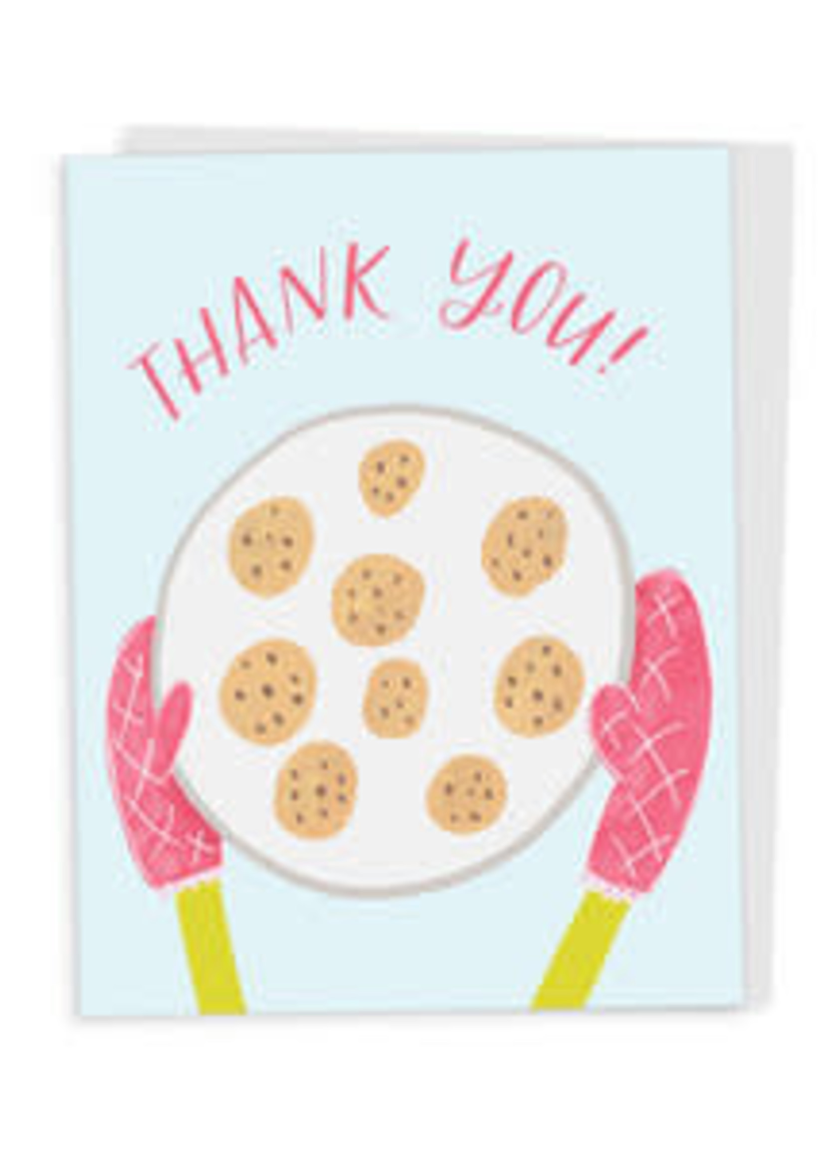 Happy Tines Thank You Cookies Card