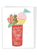 Happy Tines Bloody Good Birthday Card