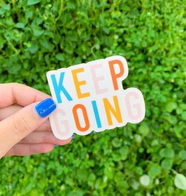 Cardinal Directions CD Stickers- Keep Going