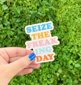Cardinal Directions CD Stickers- Seize the Freaking Day