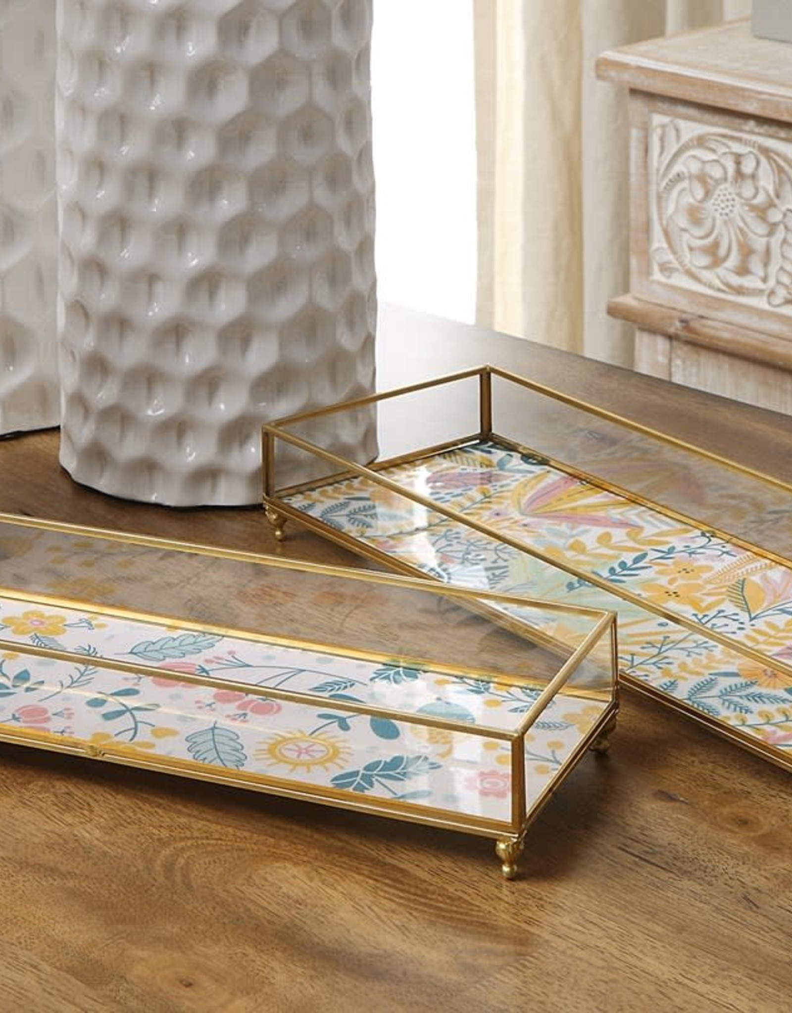 Marigold Glass Tray