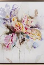 Delicate Framed Oil Painting