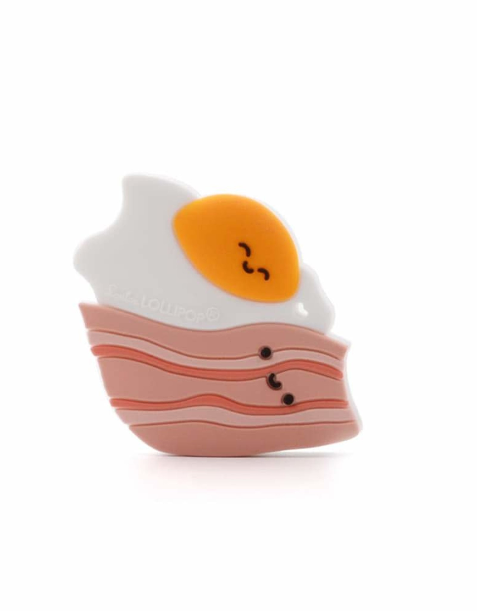 Bacon and Egg Silicone Teether