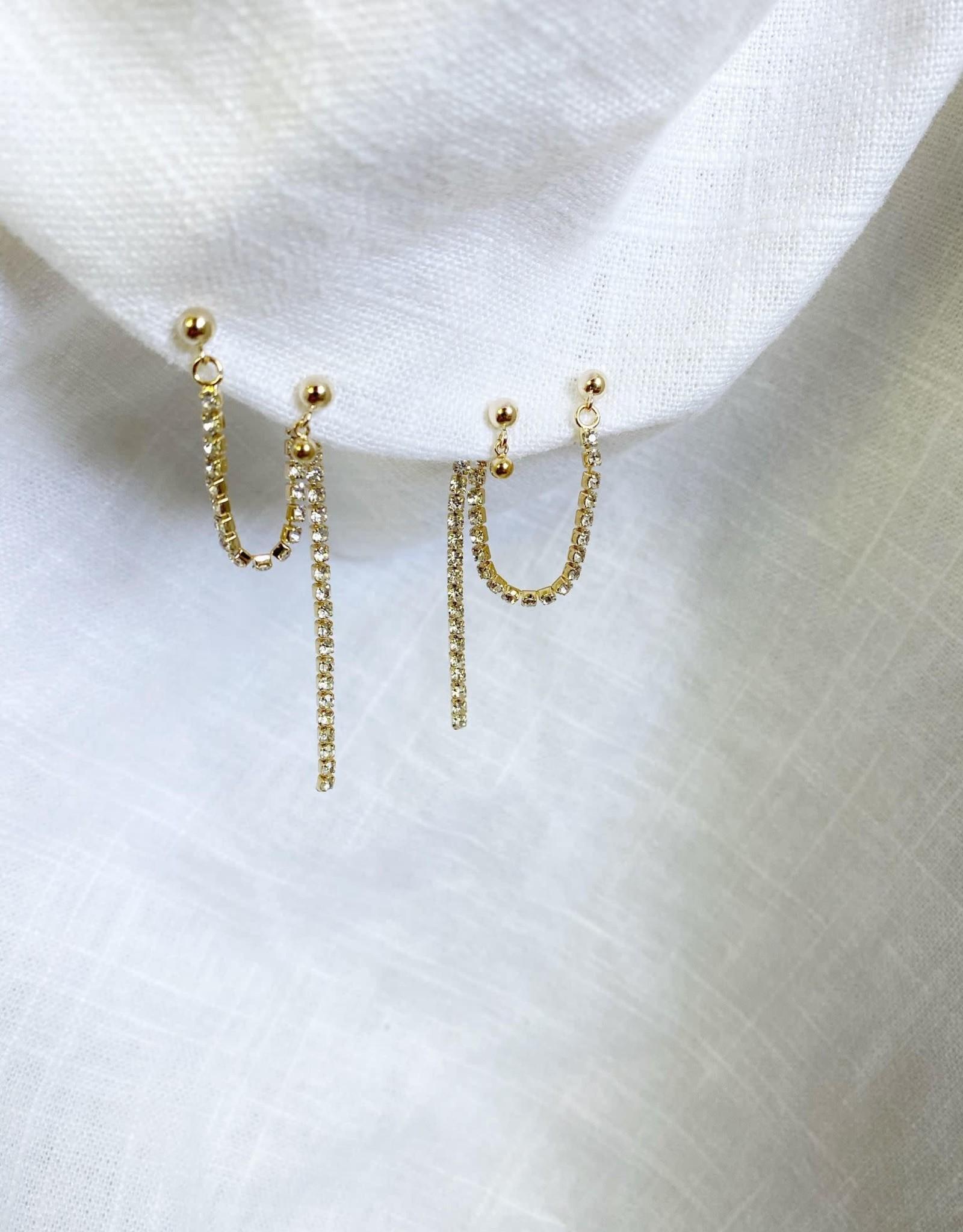 Bofemme Bofemme Glitz Drop Earrings
