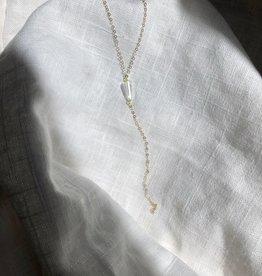Bofemme Bofemme Crystal Lariat Necklace