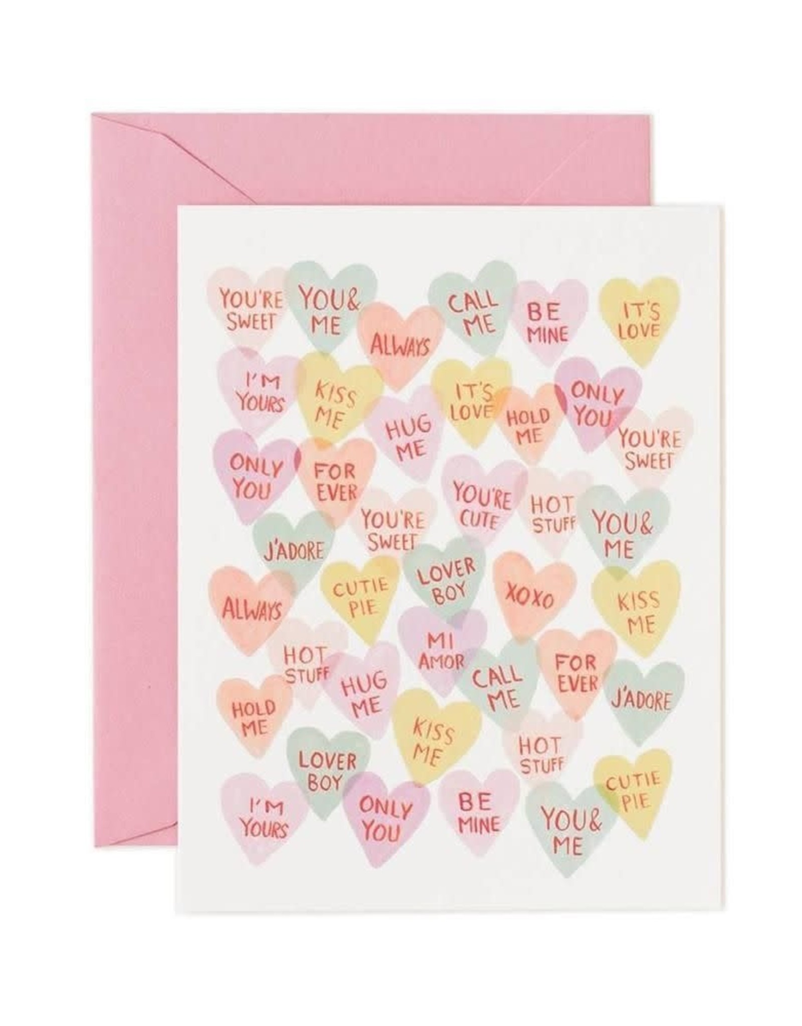 Valentine Sweethearts Card