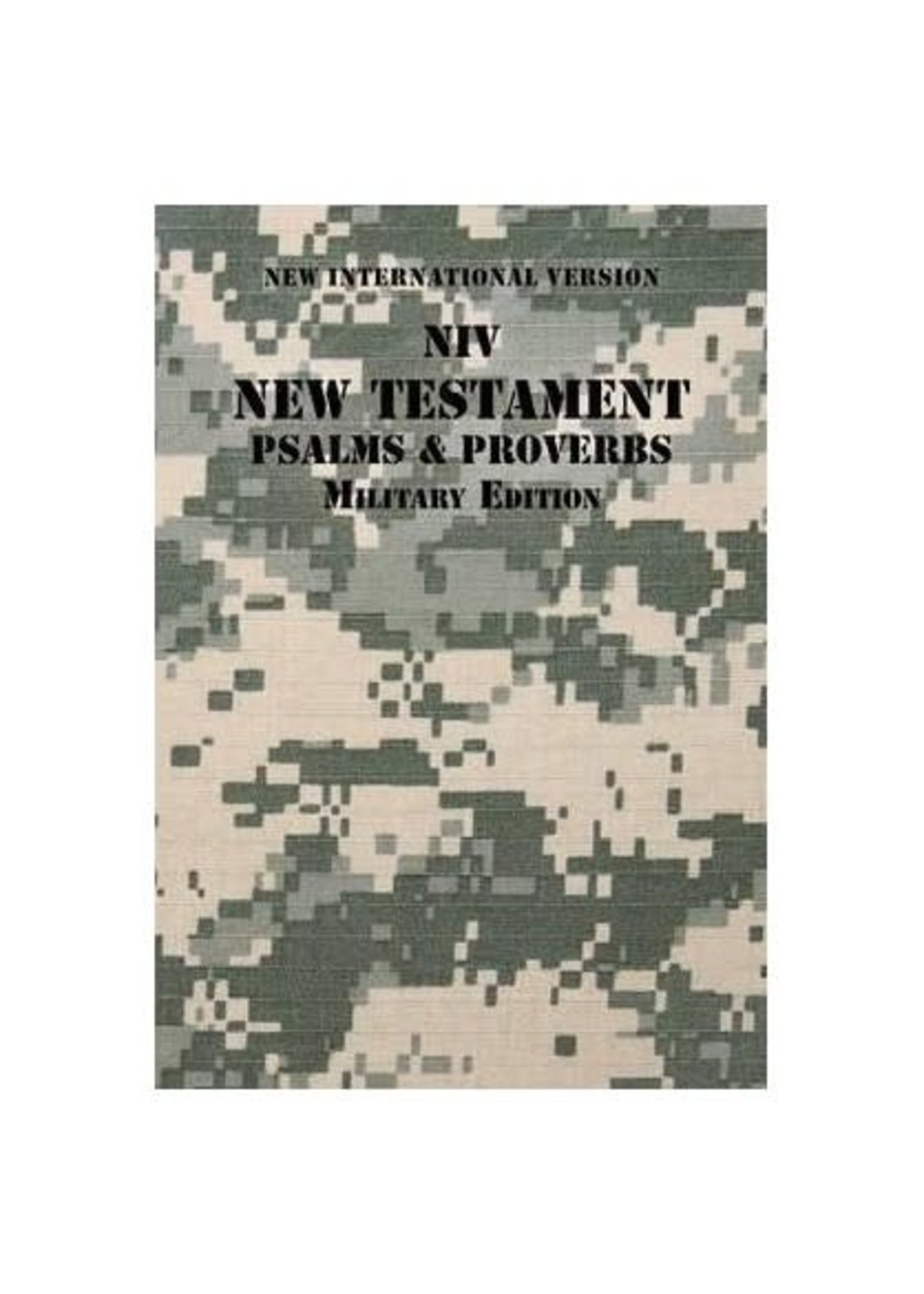 NIV New Testament Military Edition