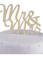 Mr & Mrs. Cake Topper