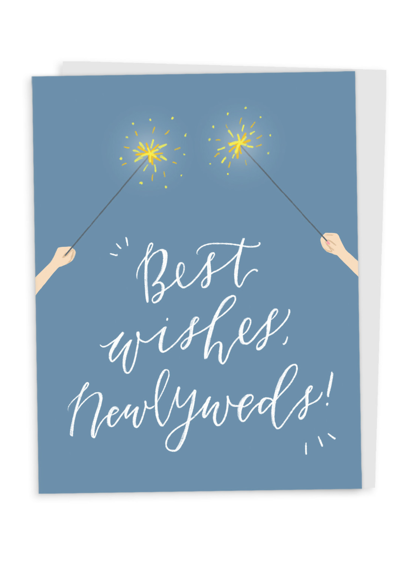 Happy Tines Best Wishes Sparklers Card
