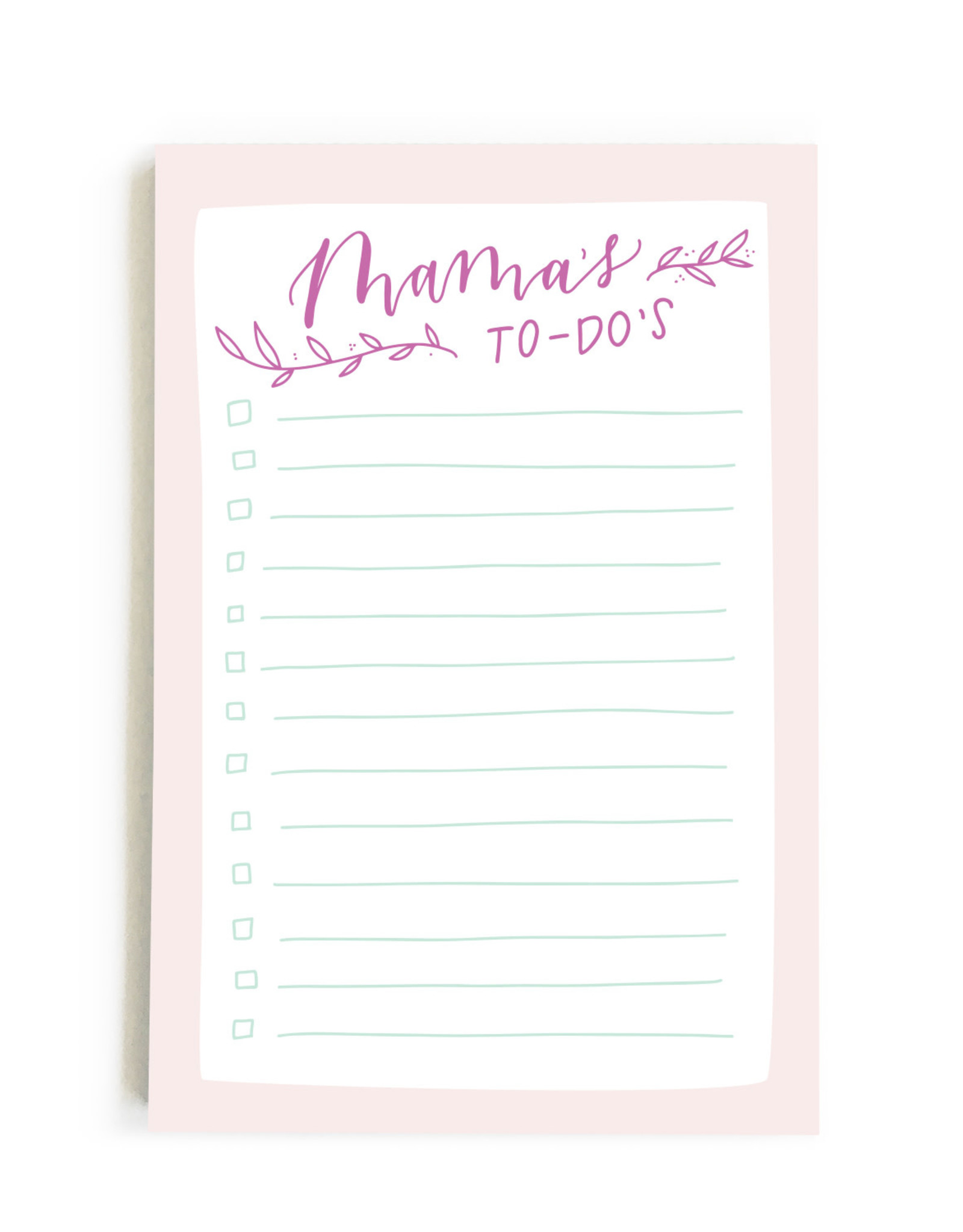 Happy Tines Mamas To Do Notepad
