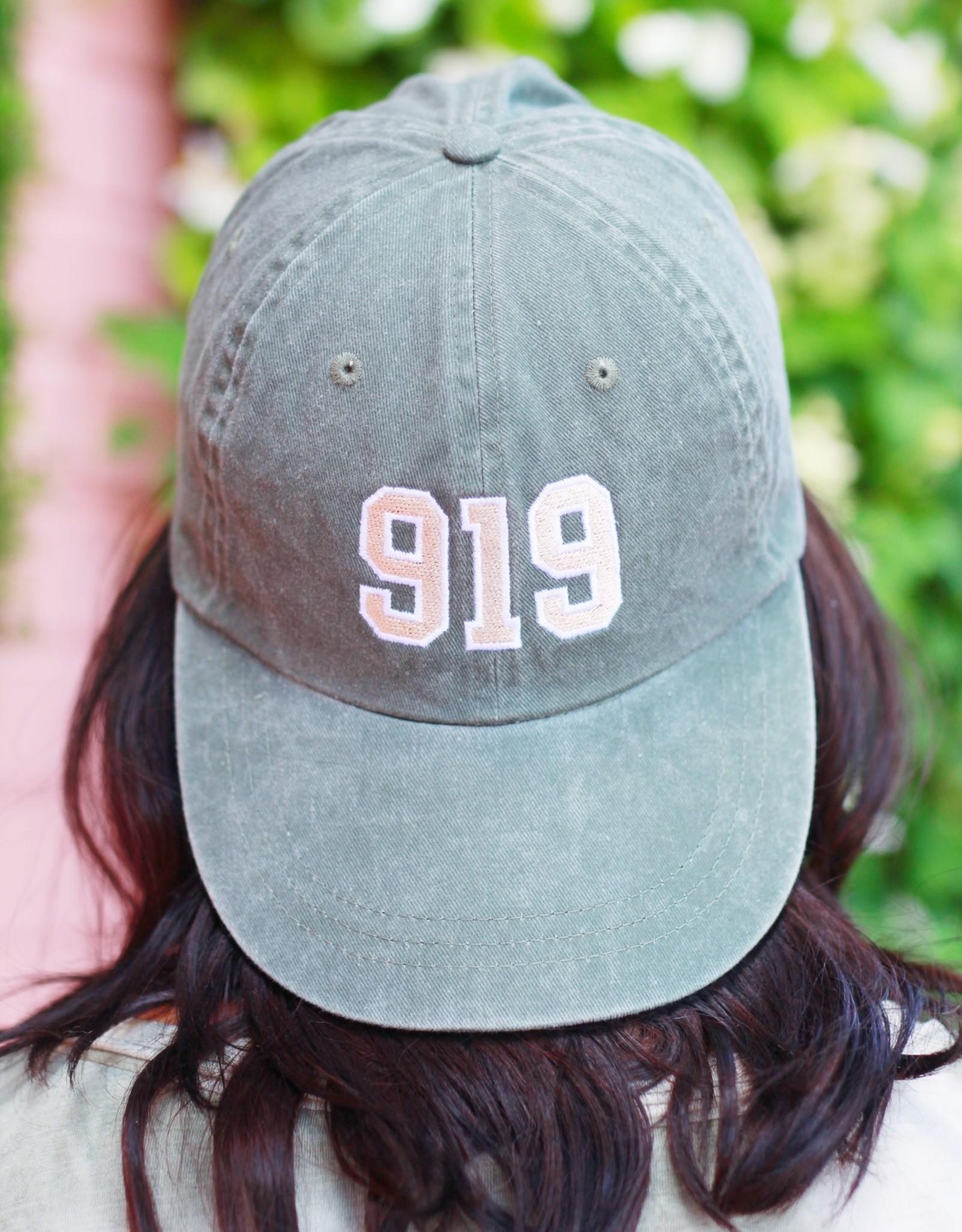Local Squirrel Originals 919 Baseball Cap