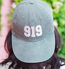 Local Squirrel Originals 919 Baseball Cap