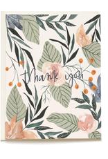 Pen + Pillar Gardenia Thank You Card Set of 8