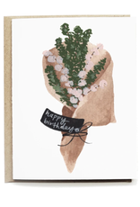 Pen + Pillar Rustic Bouquet Birthday Card