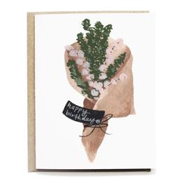 Pen + Pillar Rustic Bouquet Birthday Card