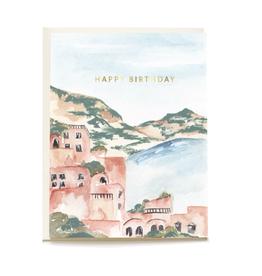 Pen + Pillar Seaside Birthday Card