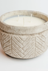 Sweet Wick Candle Co. Mimosa Spice Concrete Bowl Candle