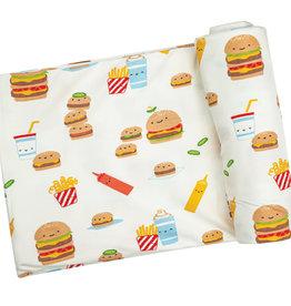 Burger Joint Swaddle Blanket