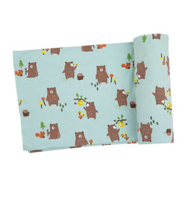Baby Bears Swaddle Blanket