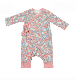 Vintage Garden Wrap Coverall 3-6M