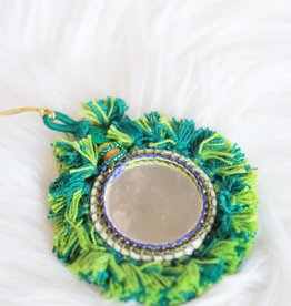 Boho Mirror Ornament O2