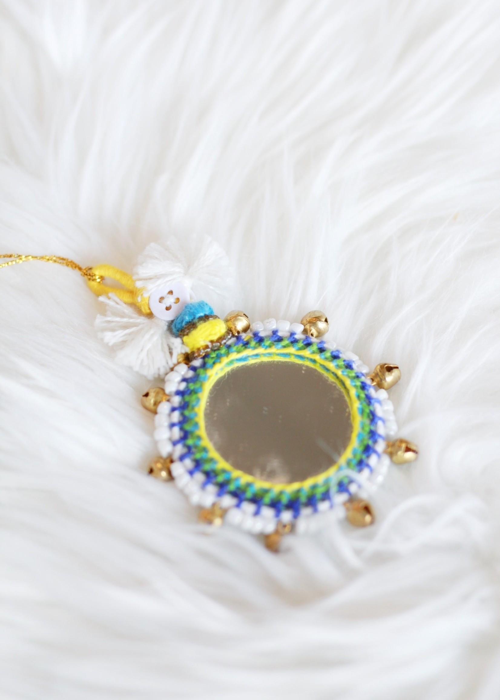 Boho Mirror Ornament O2