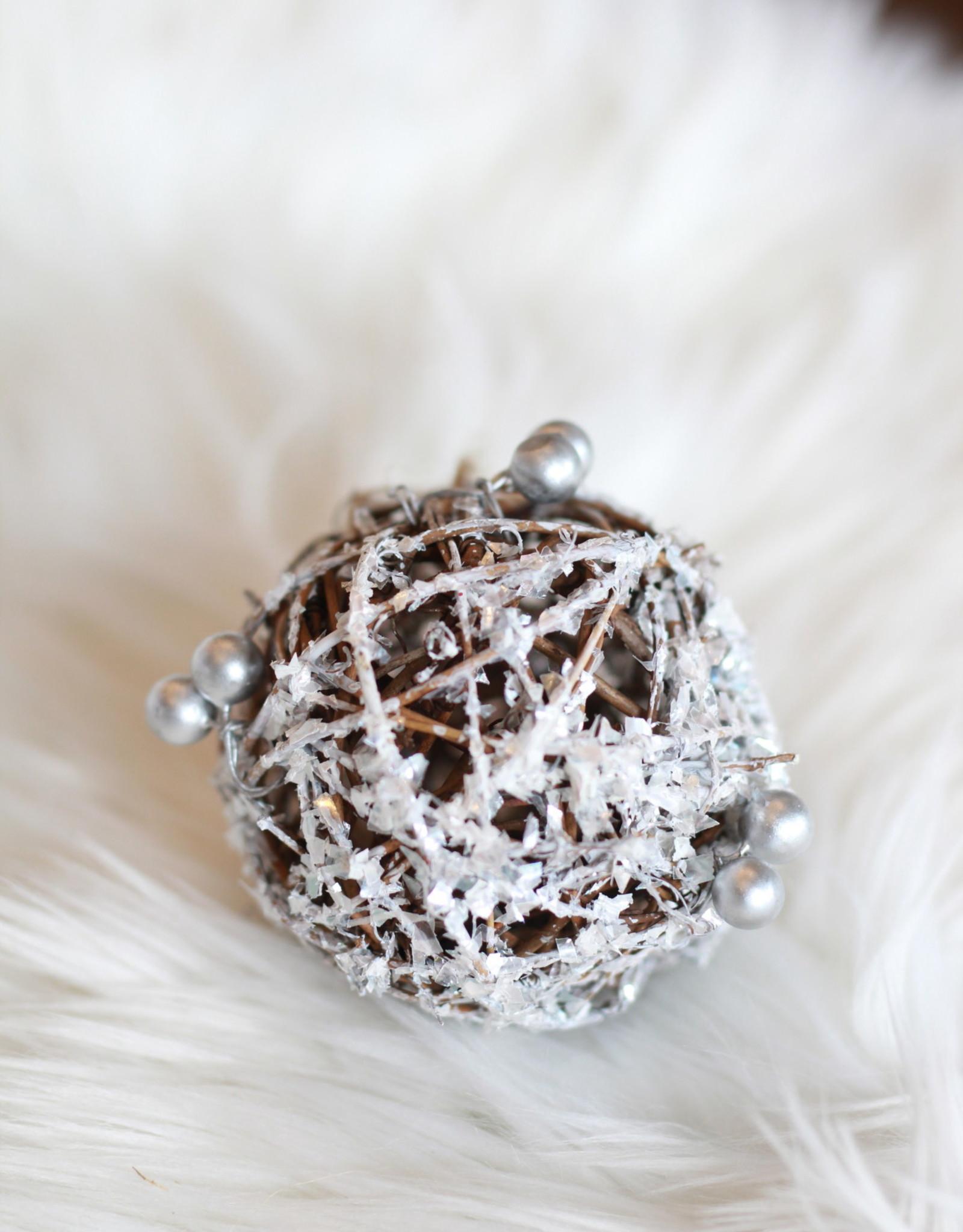 Silver Twig Ball