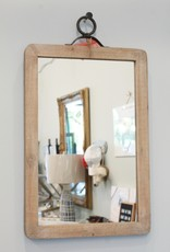 Wood Framed Wall Mirror