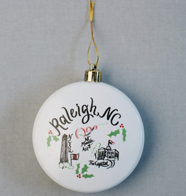 Emily Brooks EB Raleigh Ornament