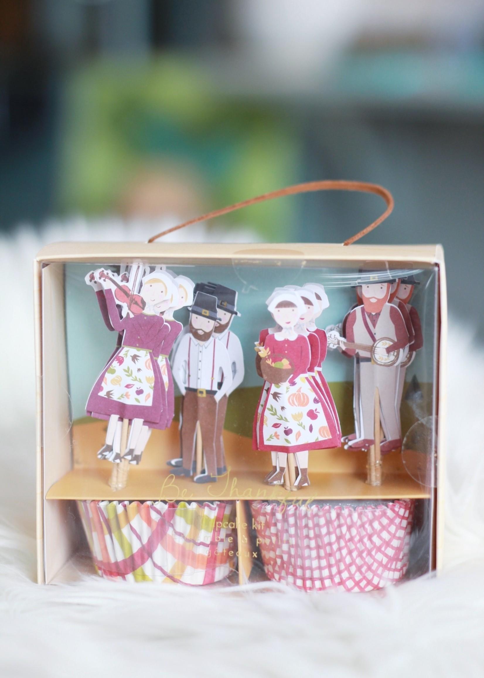 Pilgrim Cupcake Kit